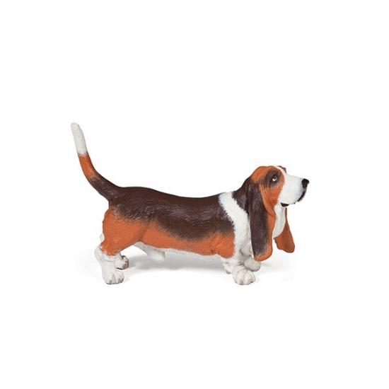 Basset hond speeldiertje 2,5 cm (bron: Sinterklaas-feestwinkel)