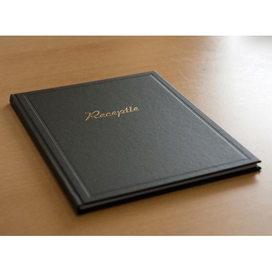 Bruiloft gastenboek zwart (bron: Sinterklaas-feestwinkel)
