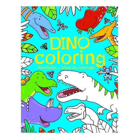 Dinosaurus kleurplaten boek