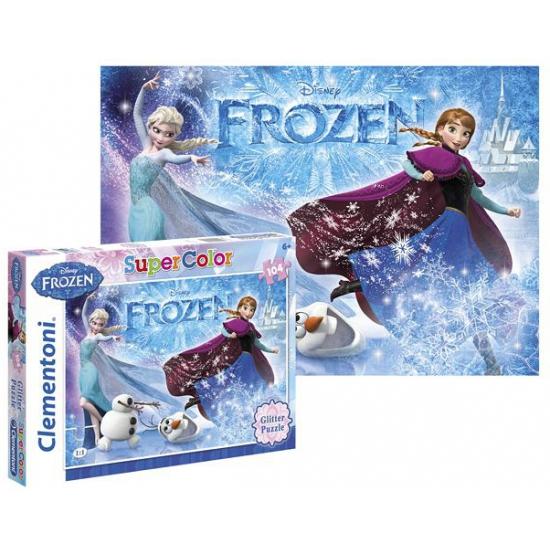 Frozen legpuzzel van 104 stukjes