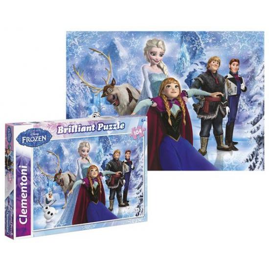 Frozen puzzel van 104 stukjes