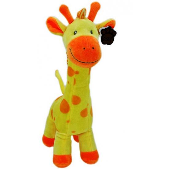 Gele giraffe knuffel 51 cm