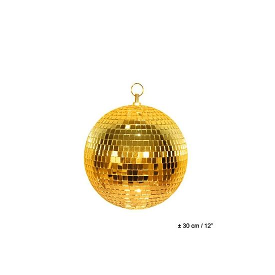 Gouden discobal 30 cm