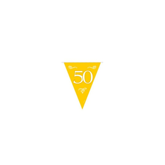 Gouden vlaggenlijn 50e jubileum
