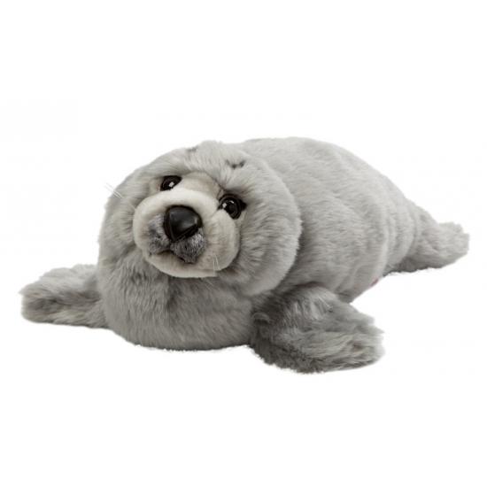 Grijze knuffel zeehond 40 cm (bron: Sinterklaas-feestwinkel)