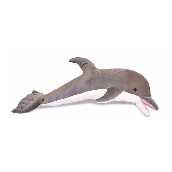 Grote dolfijn knuffel 104 cm
