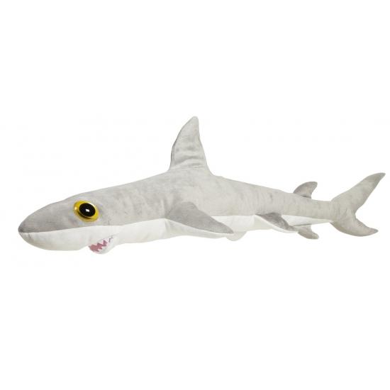 Grote grijze rifhaai knuffel 110 cm