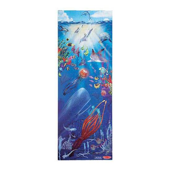 Grote puzzel met oceaan afbeelding