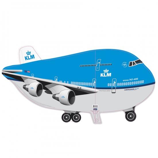Helium ballon KLM vliegtuig