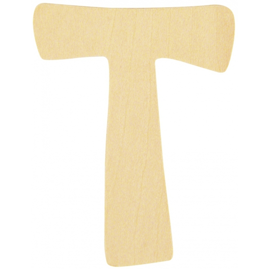 Houten lettertje T (bron: Sinterklaas-feestwinkel)