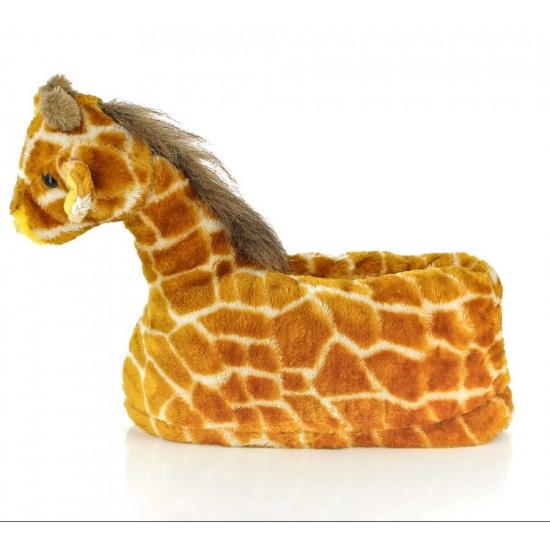 Kinder dieren pantoffels giraffe (bron: Sinterklaas-feestwinkel)