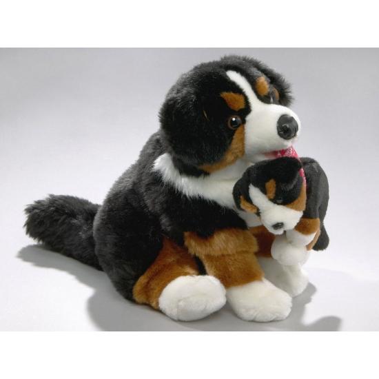 Knuffel hond Berner Sennen 30 cm (bron: Sinterklaas-feestwinkel)