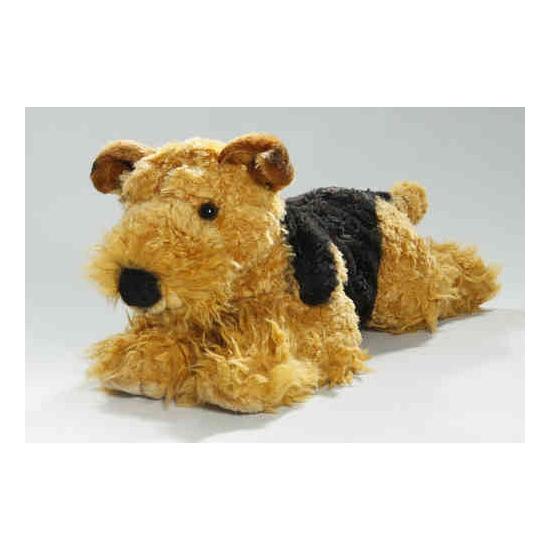 Knuffel hond fox terrier 40 cm (bron: Sinterklaas-feestwinkel)