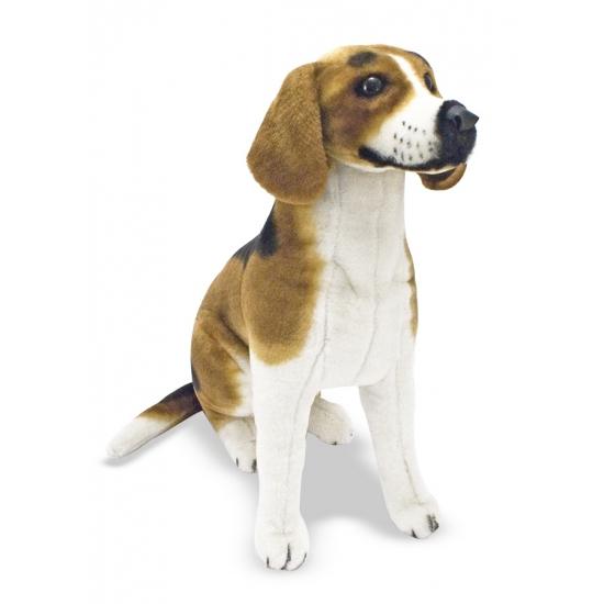 Knuffeldier hond Beagle 56 cm