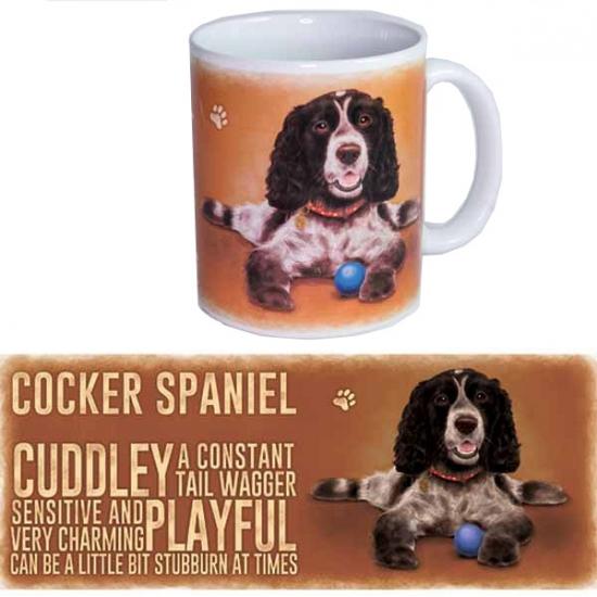 Koffie beker Cockerspaniel hond (bron: Sinterklaas-feestwinkel)
