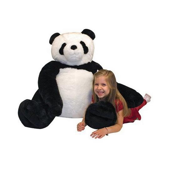 Mega panda knuffel 76 cm (bron: Sinterklaas-feestwinkel)