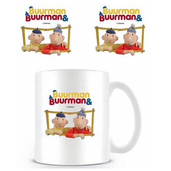 Merchandise mok Buurman en Buurman raam (bron: Sinterklaas-feestwinkel)