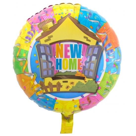 New Home folie ballonnen
