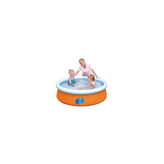Opblaasbaar zwembad oranje