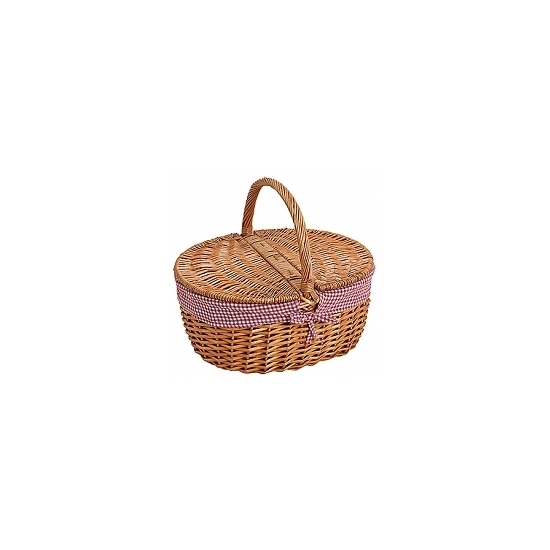 Ovalen picknickmand 40 cm