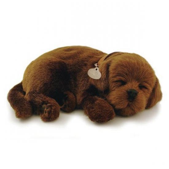 Perfect Petzz Labrador knuffel hond bruin