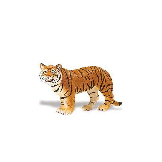 Plastic Bengaalse tijgerin bruin 14 cm (bron: Sinterklaas-feestwinkel)