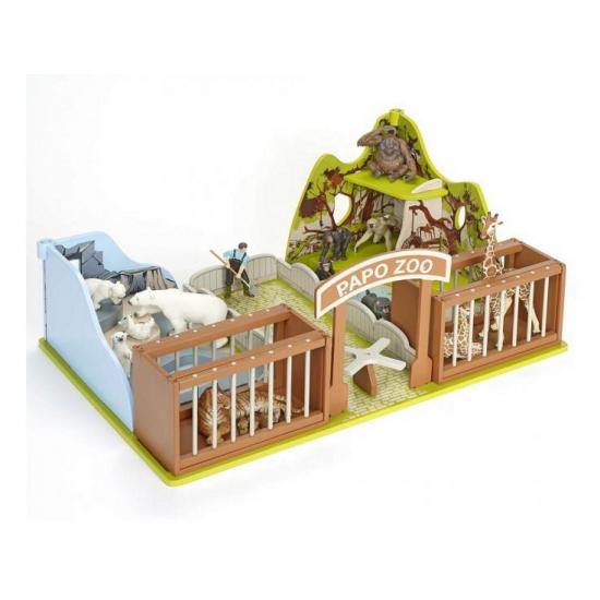 Plastic dierentuin speelset (bron: Sinterklaas-feestwinkel)