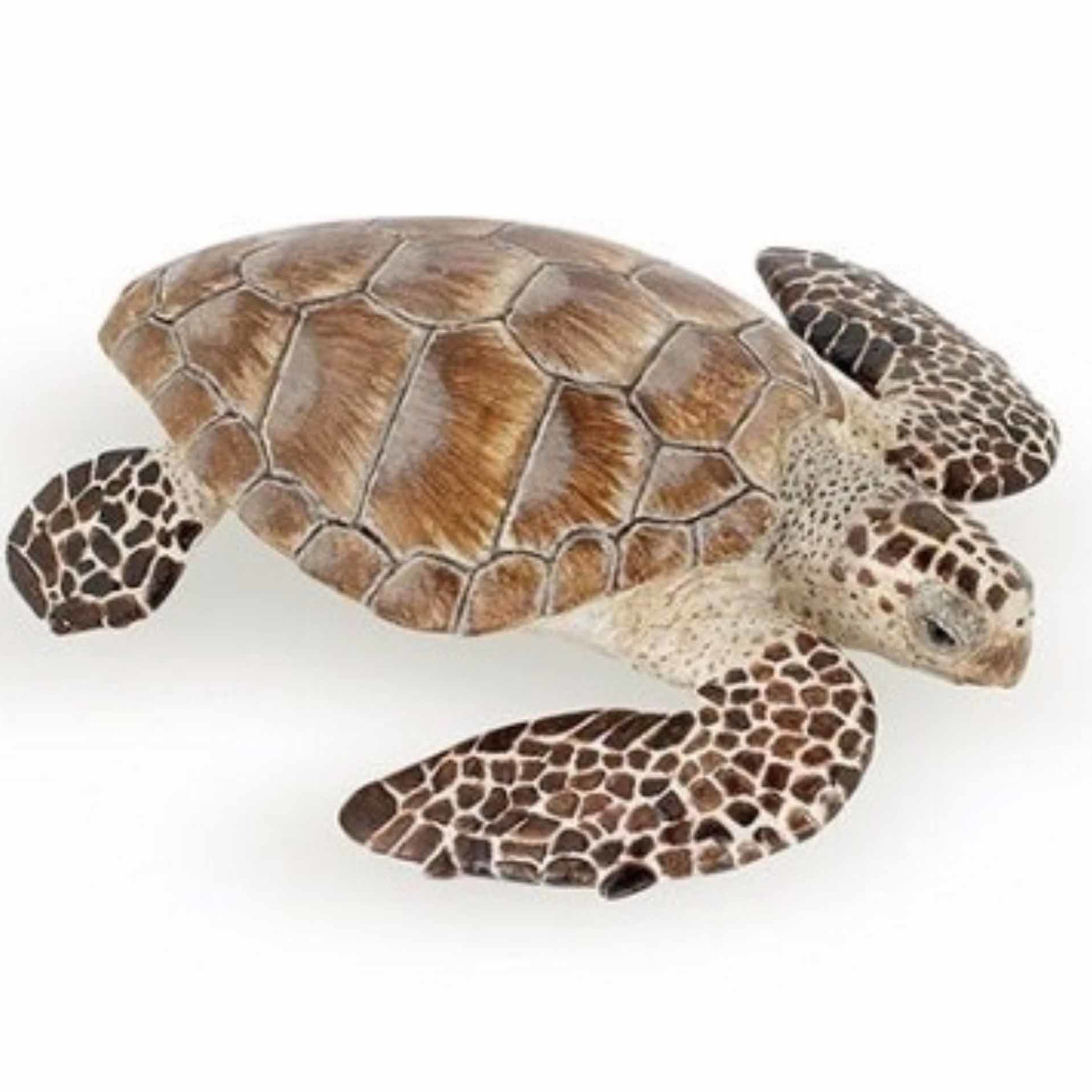 Plastic karetschildpad speeldiertje 7,5 cm (bron: Sinterklaas-feestwinkel)