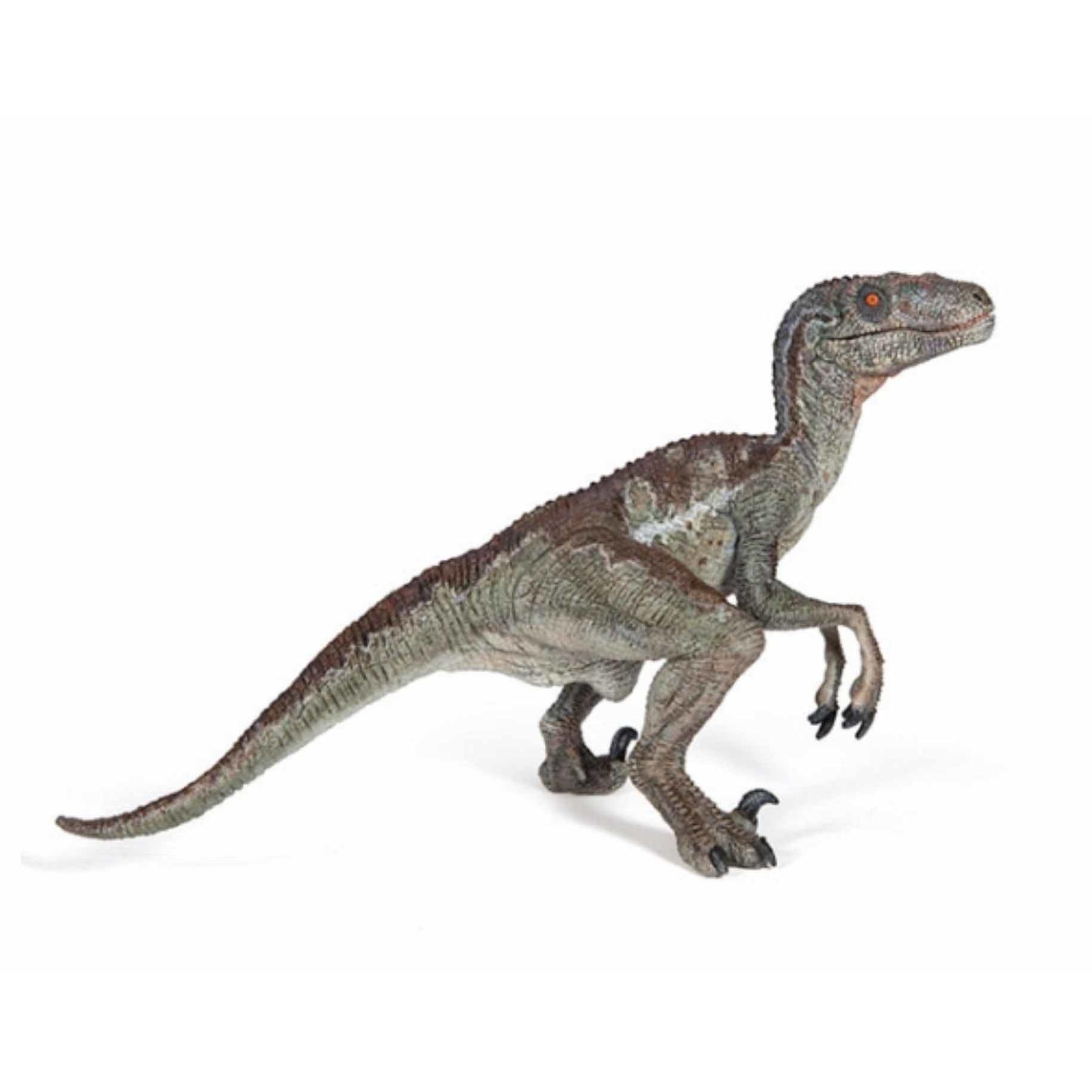 Plastic speelfiguur velociraptor dinosaurus 15 cm