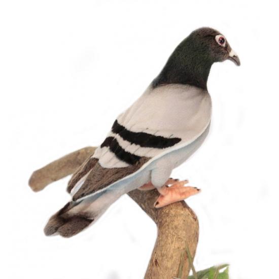 Pluche knuffel duiven 29 cm