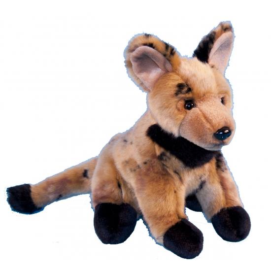 Pluche knuffel hyena 21 cm (bron: Sinterklaas-feestwinkel)