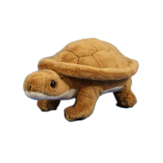 Pluche knuffel schildpad 15 cm