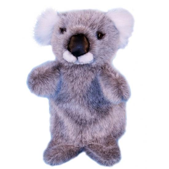 Pluche koala handpoppen 28 cm (bron: Sinterklaas-feestwinkel)