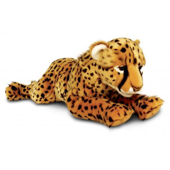 Pluche liggende cheetah 100 cm