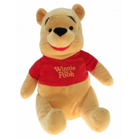 Pluche Winnie the Poeh knuffel 30 cm (bron: Sinterklaas-feestwinkel)