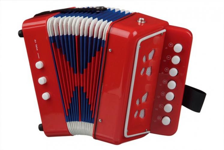 Rode accordeon