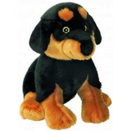 Rottweiler knuffels 31 cm