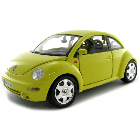 Schaalmodel Volkswagen Beetle geel (bron: Sinterklaas-feestwinkel)
