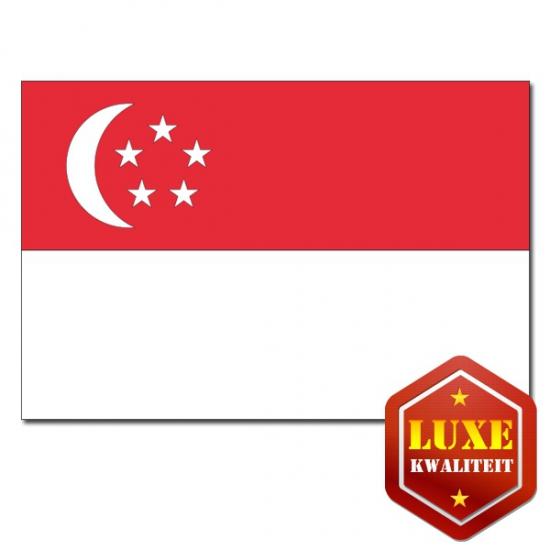 Singaporese vlaggen goede kwaliteit