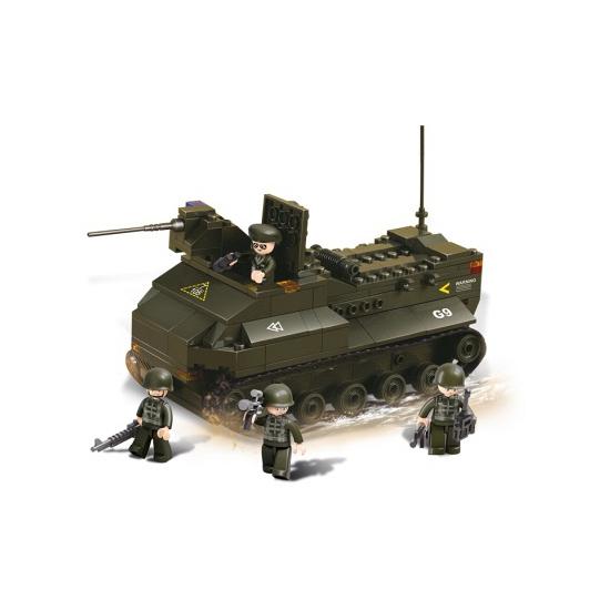 Sluban bouwstenen pantservoertuig (bron: Sinterklaas-feestwinkel)