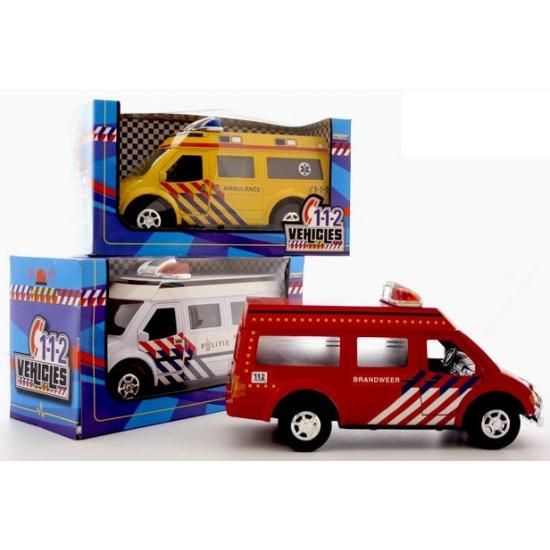 Speelgoed brandweerauto rood