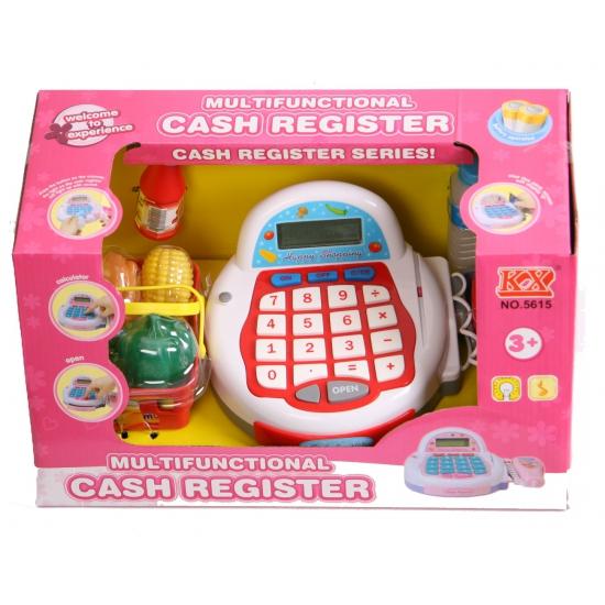 Speelgoed winkeltje kassa met digitale display