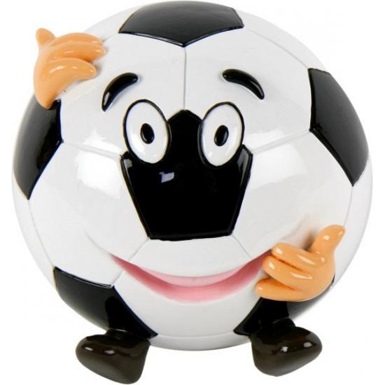 Voetbal spaarpot met gezicht (bron: Sinterklaas-feestwinkel)