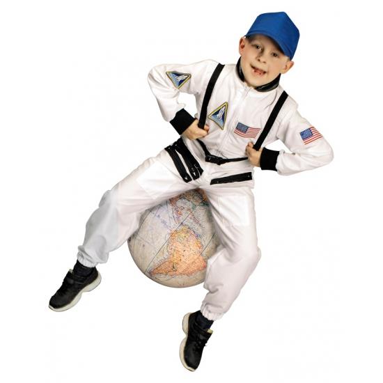 Wit astronauten pak voor kinderen (bron: Sinterklaas-feestwinkel)