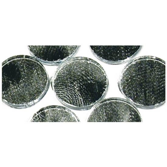 Zelfklevende mozaiek rond zilver (bron: Sinterklaas-feestwinkel)