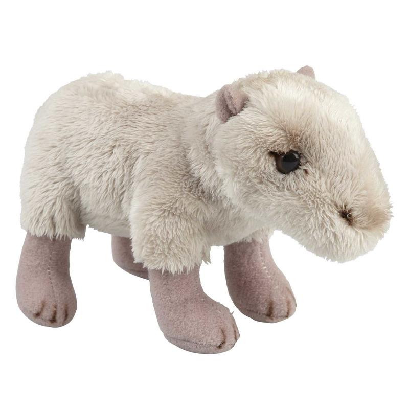Beige capibaras knuffels 15 cm knuffeldieren