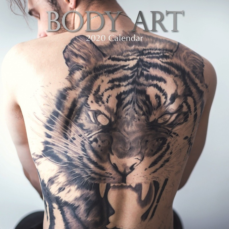Body Art 2020 wandkalender tattoo kunstenaars