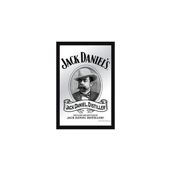Decoratie spiegel Jack Daniels white