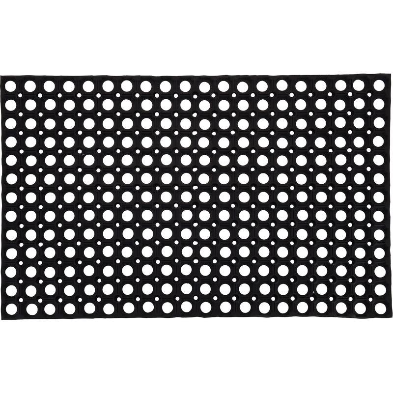 Deurmat-buitenmat rubber 50 x 80 cm