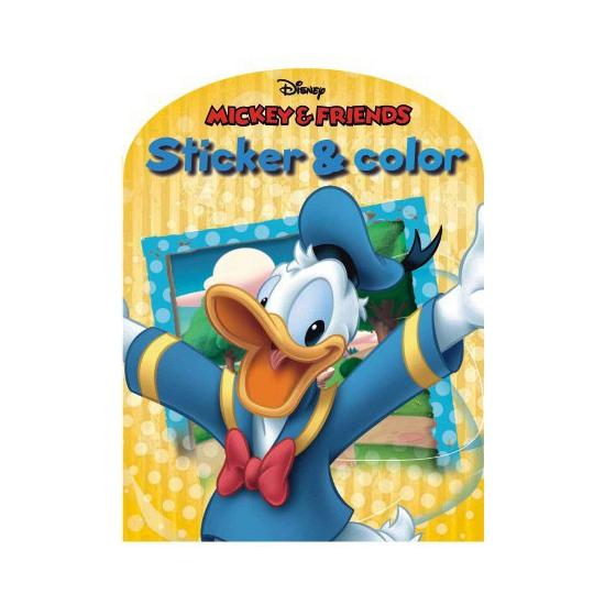 Disney Kleurplaten Sinterklaas.Disney Kleurplaten Boek Mickey Mouse En Vrienden Sinterklaas